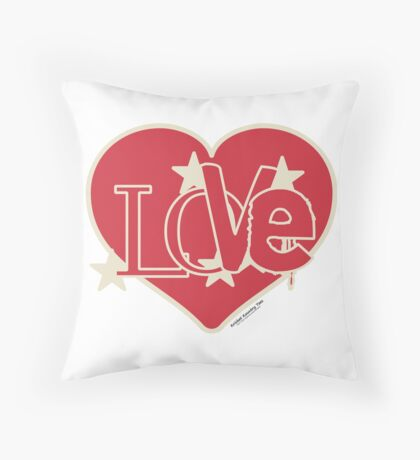 LOVE...from the Heart! Throw Pillow