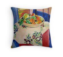 Admiring Matisse Throw Pillow