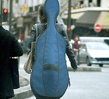 Musical street walker by triciamary