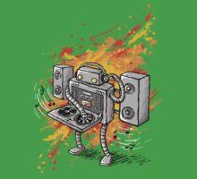 Robot DJ is in the House! Kids Tee