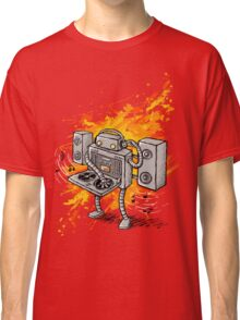 Robot DJ is in the House! Classic T-Shirt