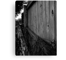 Fence Canvas Print