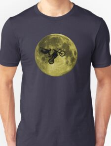 Awesome Freestyle in da moon - Motocross MX  Unisex T-Shirt