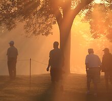 Sunrise at Hazeltine by Kate Purdy