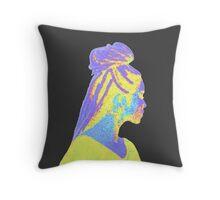 Jhene Colorful Fuzz Throw Pillow