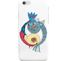 Aquatic Yin Yang - Gyarados & Milotic! iPhone Case/Skin
