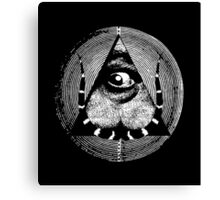 dali's all-dreaming eye Canvas Print