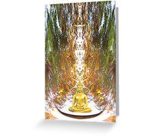 Buddha Totem Greeting Card