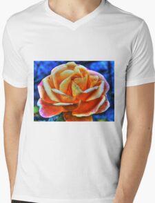 HDR flower Mens V-Neck T-Shirt