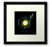 music from the milky way Framed Print