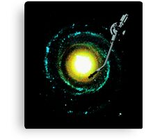 music from the milky way Canvas Print