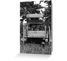 Old Workhorse Greeting Card