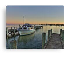 HDR,Goolwa,South Australia Canvas Print