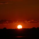 Sunset on Hwy 10 by tom j deters