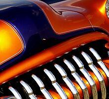 Orange and purple car by JEOtterbacher