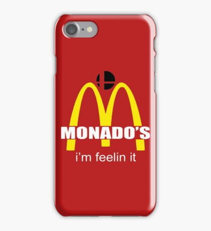 Monado's - i'm feelin it - SM4SH iPhone Case/Skin