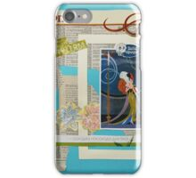 The Belle Epoque Collage iPhone Case/Skin