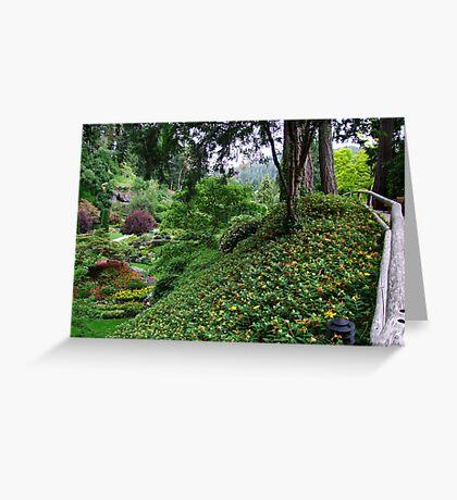 Sunken Garden No.4 Greeting Card