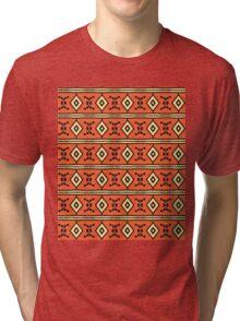 Stripes and diamonds Tri-blend T-Shirt