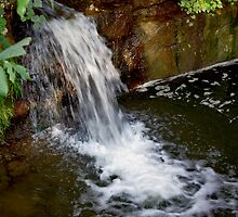 mini waterfall by katievphotos