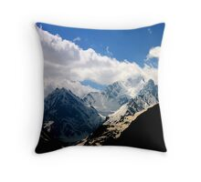 Cold Col Throw Pillow