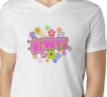 Groovy Mens V-Neck T-Shirt