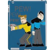 Pew! Pew! Jim iPad Case/Skin
