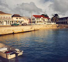 Curacao water front homes by Jerry Clitty