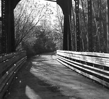 Black and white bridge by JEOtterbacher