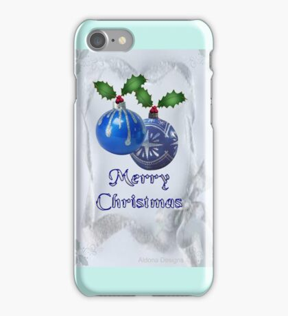 Christmas Ornaments (19921  Views) iPhone Case/Skin