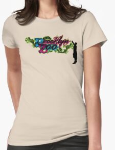 Broolyn Zoo Spray Paint Bomber Womens Fitted T-Shirt