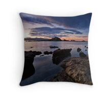 Taputeranga Island Dawn Throw Pillow