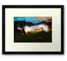 The Deep Sleep Framed Print