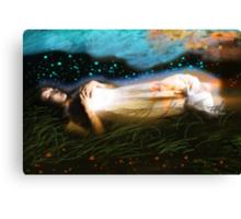 The Deep Sleep Canvas Print