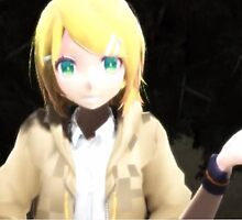 "3d ""Whatever"" Blond Anime by Violet3dDesign"