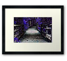 Into the Magic Framed Print