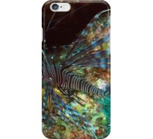 Lion Fish on the Reef iPhone Case/Skin