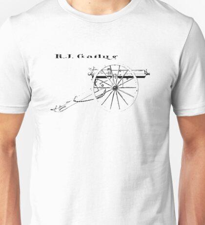 Gatling Gun Unisex T-Shirt