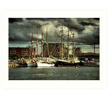 Tall Ships (1) Art Print
