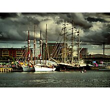 Tall Ships (1) Photographic Print