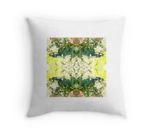 The Plants Unique Skin Shines Youthfully Throw Pillow