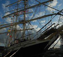 Tall Ship Tenacious - 3 rigged barque by Kevin by Ciara(Kevin & Paula) Neupert