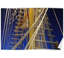 Tall Ship Europa by Paula  Poster