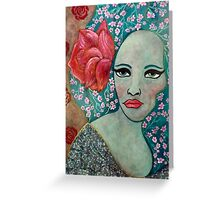 La Rosa Greeting Card