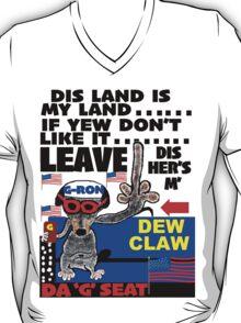 DA DEW CLAW by G-RON T-Shirt