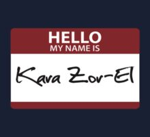"Nametag Parody: ""My Name is Kara Zor-El"" by Christopher Bunye"