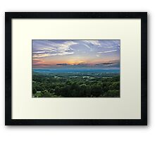 All the Colors of the Rainbow Framed Print