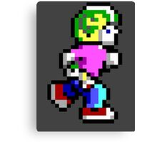 Commander Keen Pixel Style- Retro DOS game fan shirt Canvas Print