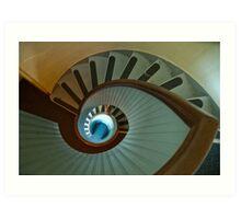 Light house stairs 2 Art Print