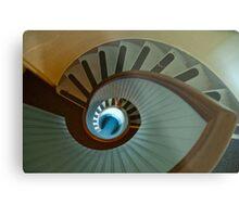 Light house stairs 2 Metal Print